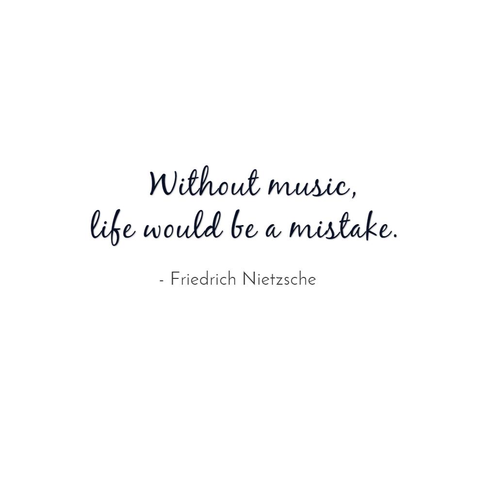 cytaty o muzyce Cytaty o muzyce: Friedrich Nitzsche cytaty o muzyce